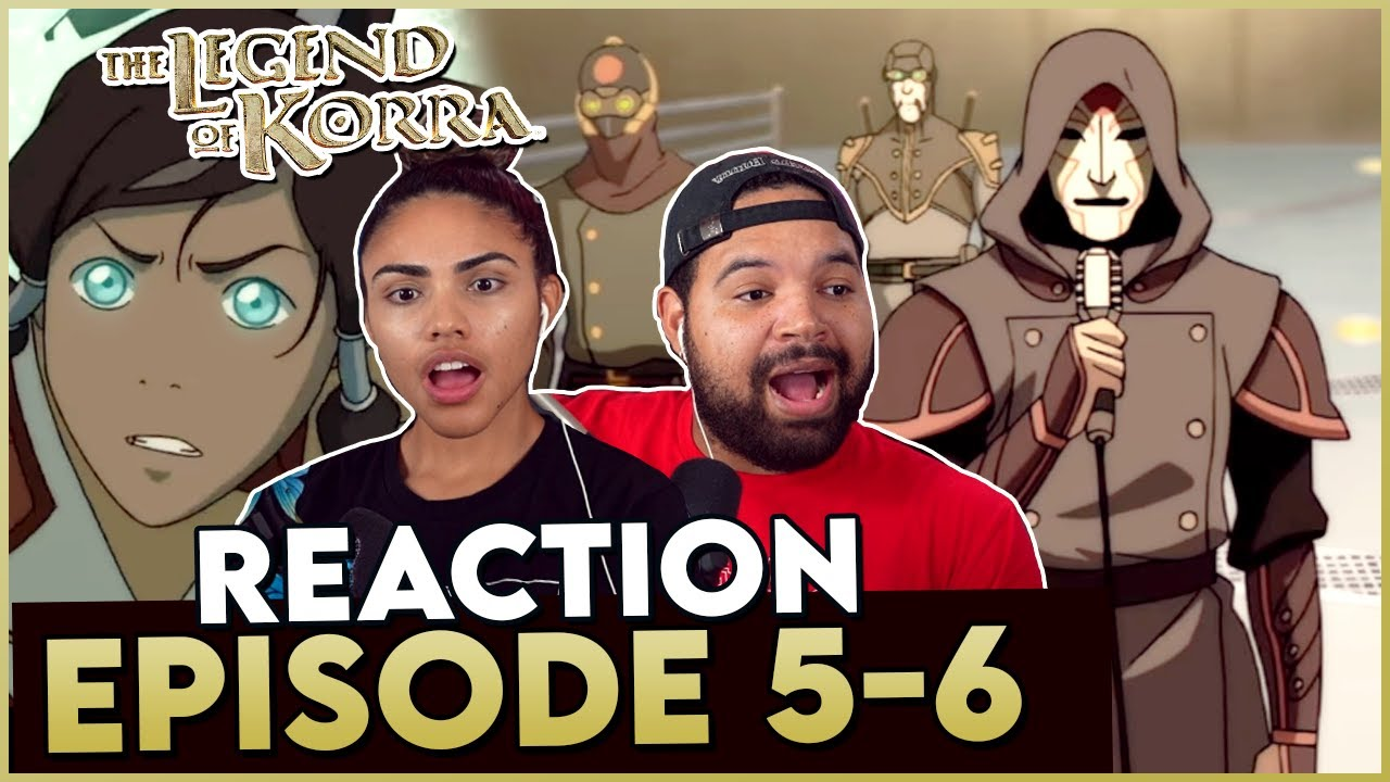 Download AMON SENT A CLEAR MESSAGE - The Legend of Korra Episode 5-6 Reaction