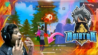 Raistar God Lbl Gameplay 😱 Gyan Gaming Live Reaction On Raistar - Garena Free Fire
