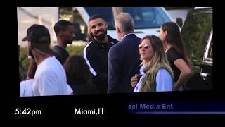 Drake at South Pointe Park