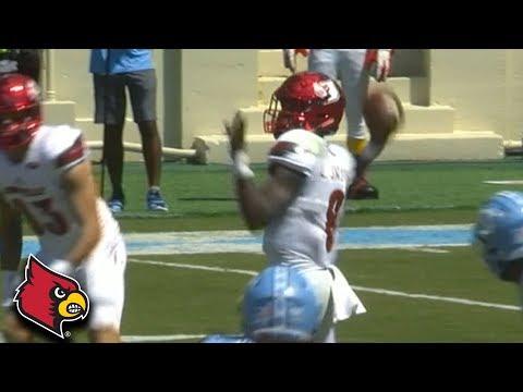Lamar Jackson 75-YD Bomb to Jaylen Smith vs. UNC