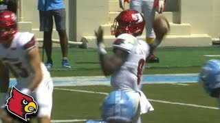 Lamar Jackson 75-YD Bomb to Jaylen Smith vs. UNC