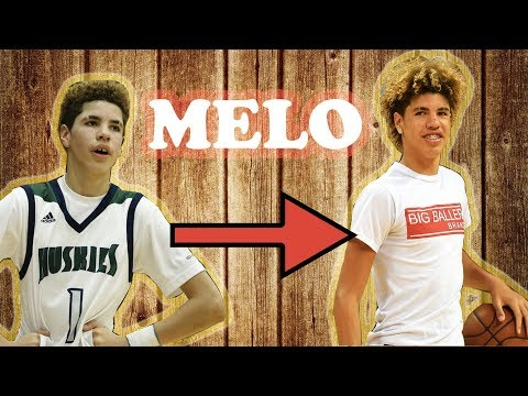 The EVOLUTION of LAMELO BALL!! 7 INCHES in 2 YEARS!!!