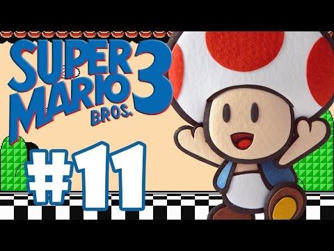 SUPER MARIO BROS 3 #11 - O JORGINHO QUER ME COMER
