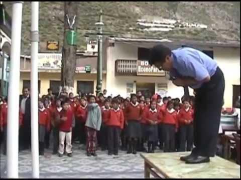 """Poema """"El Nacimiento"""" desde San Mateo de Huarochirí - 2009"""