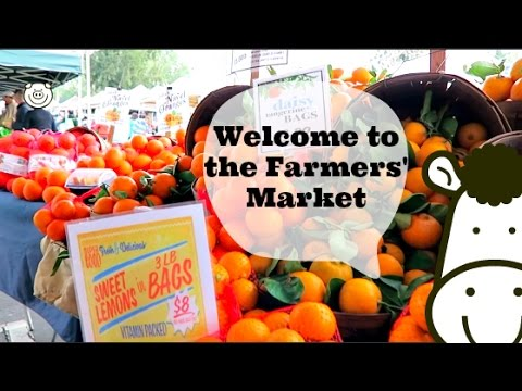 Why I LOVE Farmers' Markets! + Special Interview!