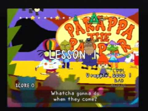 parappa the rapper stage 6 ending relationship