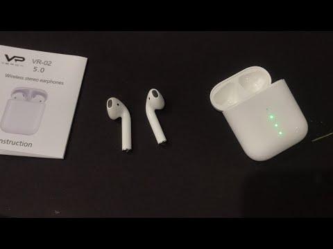 Bluetooth TWS гаринутура Veron VR - 02