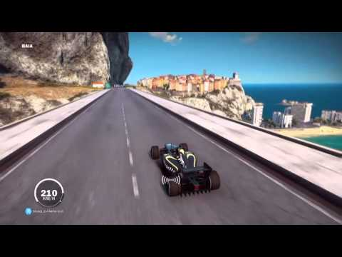 Just Cause 3 L  Formula 1 Car Location And Gameplay!!!