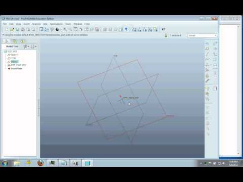 Learn Creo 1.0 - Part 1   Basic Tutorial to model Plastic Soap Dish Geometry in Pro/E from YouTube · High Definition · Duration:  8 minutes 30 seconds  · 69,000+ views · uploaded on 12/21/2011 · uploaded by Design Engine