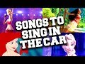 Best 55 Disney Songs to Sing in the Car