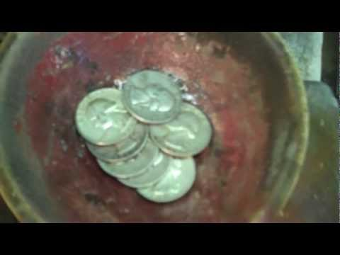 Vernon Tracy - Making Coin Silver Jewelry - Part 1