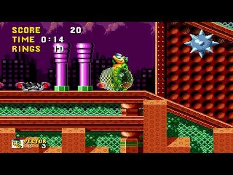 Vector in Sonic the Hedgehog