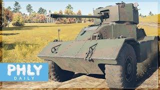 This British DRUNK Contraption THAT KICKS A#$ (War Thunder Tanks