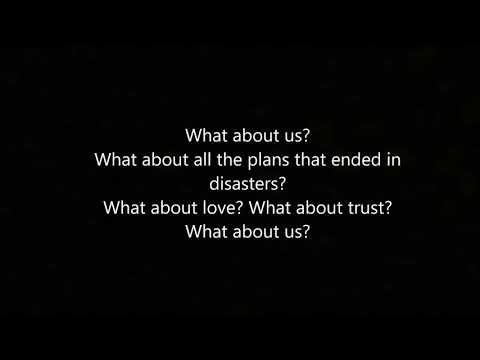 What About Us - Pink (lyrics)