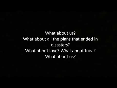 What About Us - Pink (lyrics)