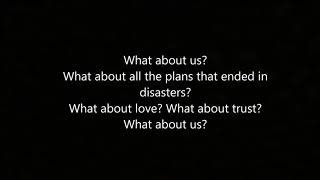 Baixar What About Us - Pink (lyrics)