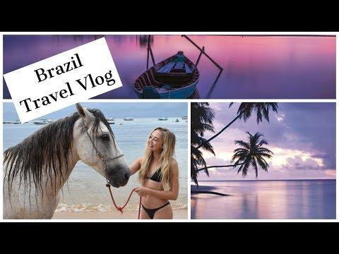 Brazil Travel Vlog | Salvador Praia do Forte