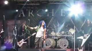 Arch Enemy - You Will Know My Name (Live in Haapsalu 18.07.2014)