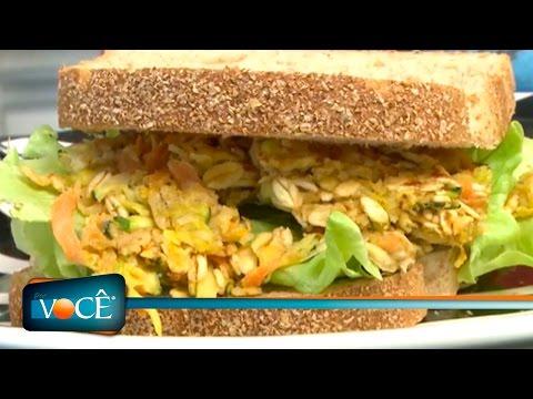 Por Você - Aprenda a fazer Hambúrguer Vegetariano 23/07/16
