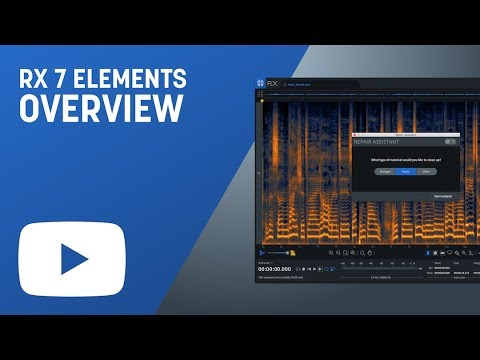 RX 7 Elements Overview: Audio Repair for Music and Post Production