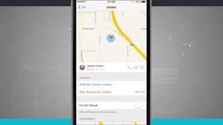 iPhone 6 Tips - How to Share Your Location in Messages