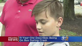 11-Year-Old Describes Being On School Bus That Crashed