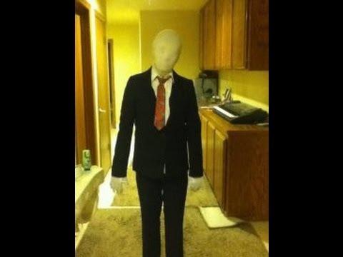 how to make a cheap slenderman costume youtube - Halloween Costume Slender Man