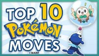Top 10 New Pokemon Moves for Sun and Moon
