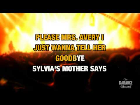 "Sylvia's Mother in the Style of ""Dr. Hook"" with lyrics (no lead vocal)"