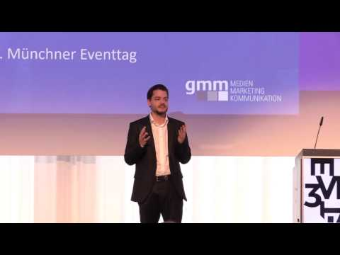 """""""Digitale Innovation"""" - Keynote von Alexander Pinker auf dem 3. Münchner Eventtag"""