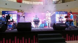 #02 SPANDA Concert at V.R.Chennai Mall | Sarvesh Karthick