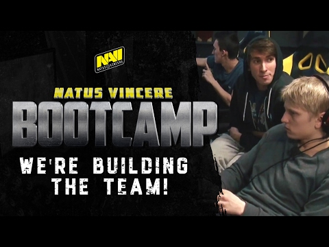 """""""We're building the team!"""" - Na`Vi bootcamp - Episode 3 (ENG subtitles available)"""