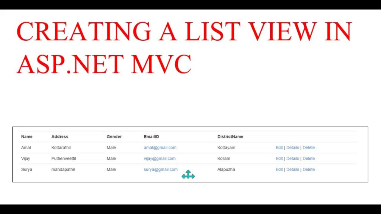 Asp. Net(vb. Net) & listview visual studio 2008,2010 (fx 3. 5,4. 0.