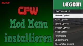 Mod Menus für alle Spiele installieren | PS3 CFW CEX & DEX | Rheloads