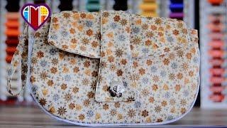 Bolsa carteira em tecidos Lark