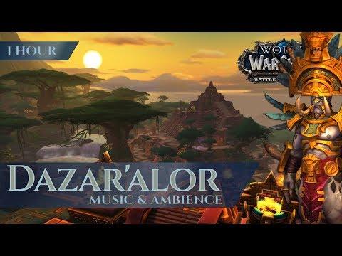 Dazar'alor - Music & Ambience (1 hour, 4K, World of Warcraft Battle for Azeroth aka BfA)