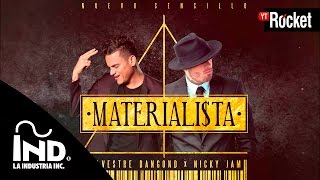 Materialista - Silvestre Dangond & Nicky Jam | Cover Audio thumbnail
