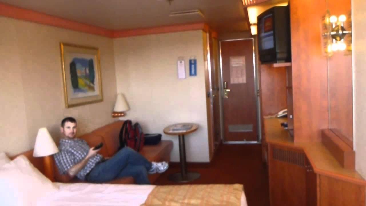 Carnival conquest stateroom 1051 youtube - Carnival sensation interior rooms ...
