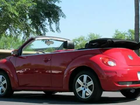 2006 Volkswagen New Beetle Convertible Auto Manual Top Chandler Arizona
