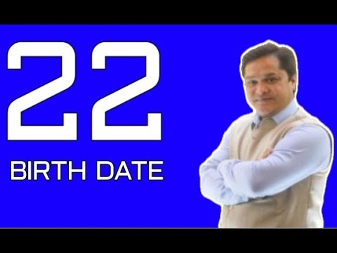 date of birth 22 numerology