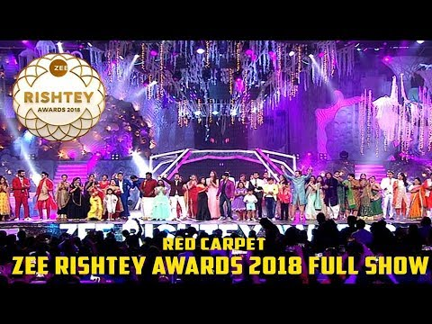Zee Rishtey Awards 2018 Full Show | Red Carpet | Zee Tv Awards Show 2018 Full Show Part 2