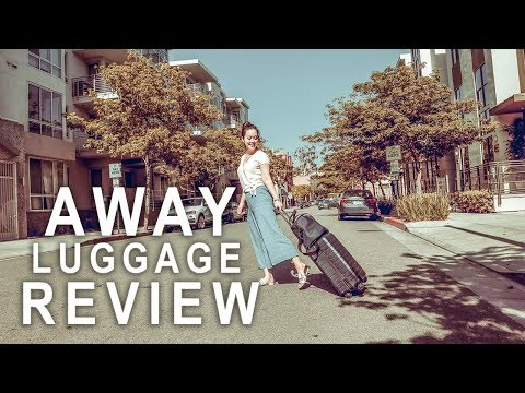 AWAY LUGGAGE REVIEW | TRAVEL CARRY ON LUGGAGE