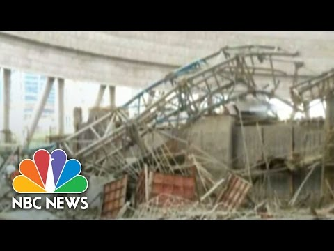 At Least 40 Killed In China Construction Collapse | NBC News