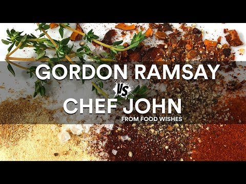 Gordon RAMSAY VS Chef JOHN from Food Wishes ?? Sous Vide BATTLE!