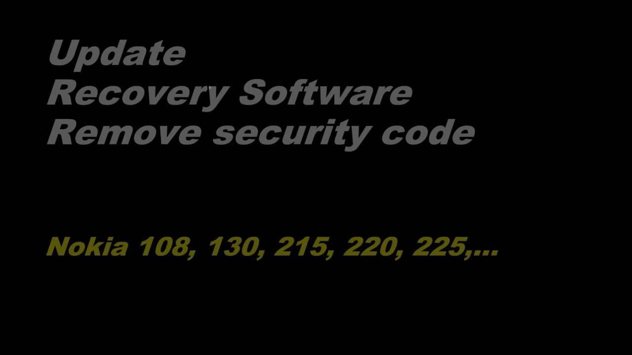 Chạy phần mềm máy Nokia 130, 215, 220, 225, 230 (kết nối V8) Xóa mã