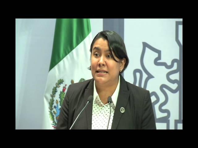 Discurso de la Dra. Perla Gómez en la Iniciativa del uso medicinal de la Cannabis
