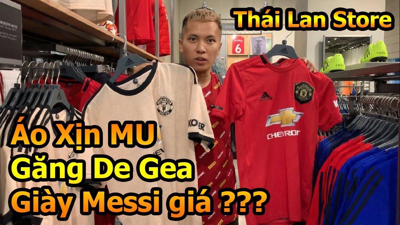 Đỗ Kim Phúc thăm shop bóng đá lớn nhất Thái Lan xem găng tay De Gea , giày Messi – DKP Việt Nam