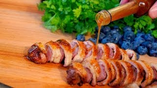 Christmas Appetizer Recipe - Duck Breast  - How To Make Reduction Sauce - Best Gravy Recipe