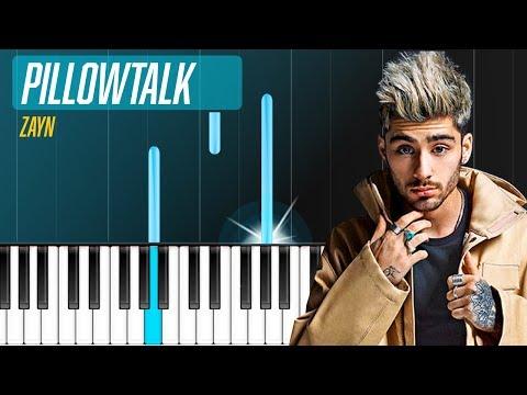 "Zayn Malik - ""Pillowtalk"" Piano Tutorial - Chords - How To Play - Cover"