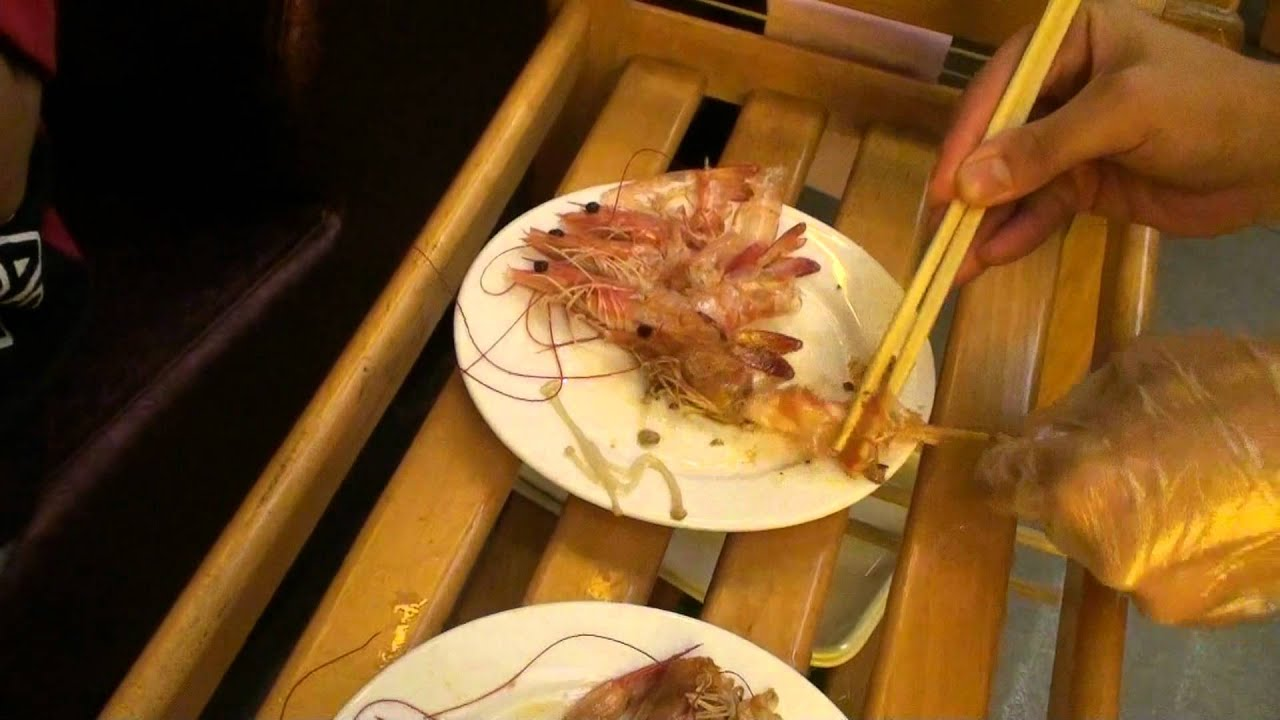 how to shell shrimp with chopsticks youtube. Black Bedroom Furniture Sets. Home Design Ideas